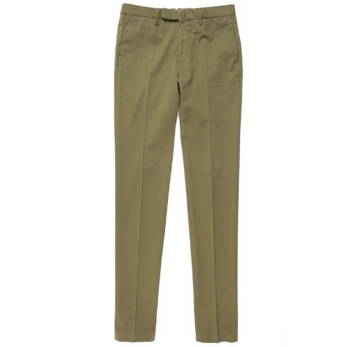 Looping. Pattern85.Tight Fit ICE Cotton Pants(Khaki)
