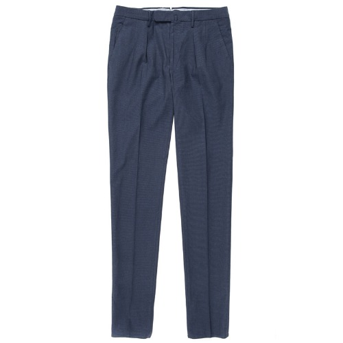 Looping. Pattern85.Tight Fit ICE Cotton Pants(Navy)