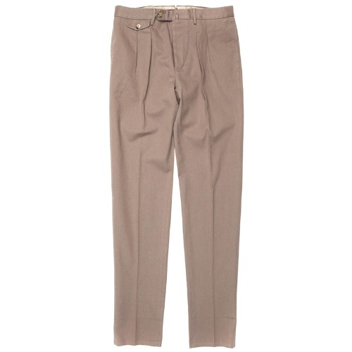 Carrot Fit. The Draper Pants(DarkBeige)