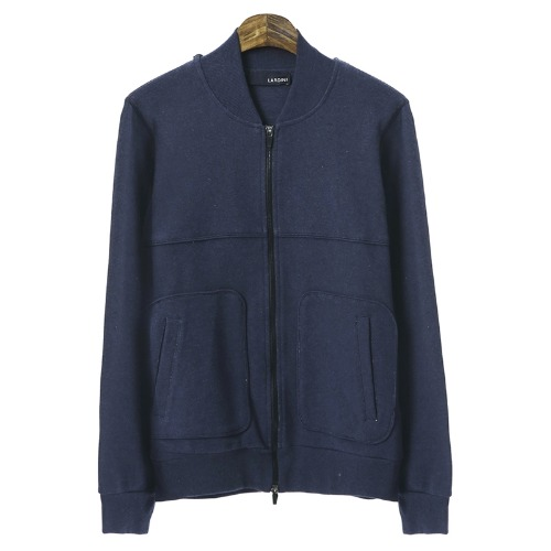 Casual Line Navy Zip Up Blouson
