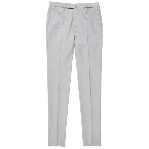 Looping. Pattern85.Tight Fit ICE Cotton Pants(Grey)