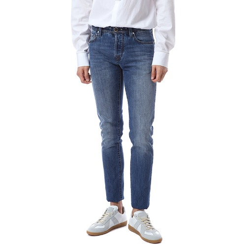 Heritage. 9I19. Comfort Medium Blue Jeans