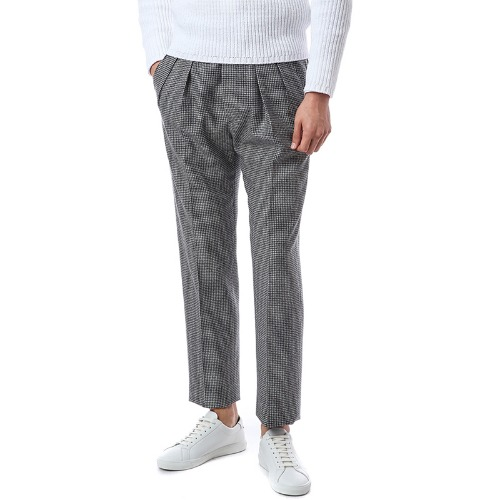 Collection. Forward Gurkha Houndstooth Wool Pants