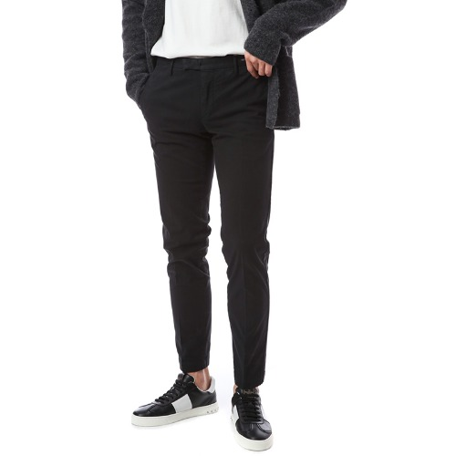 Hepcat. Skinny Fit. Crop Chino Pants (Black)