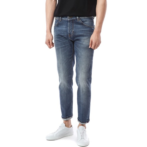 REGGAE. Tapered Fit. Foxit  Medium Blue Denim