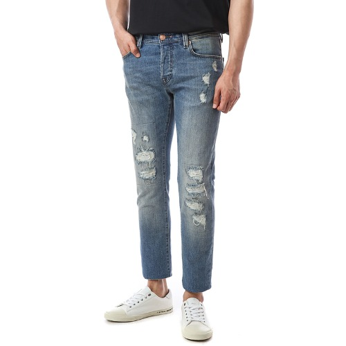 Heritage.Leonardo. Comfort Destroyed Medium Jeans