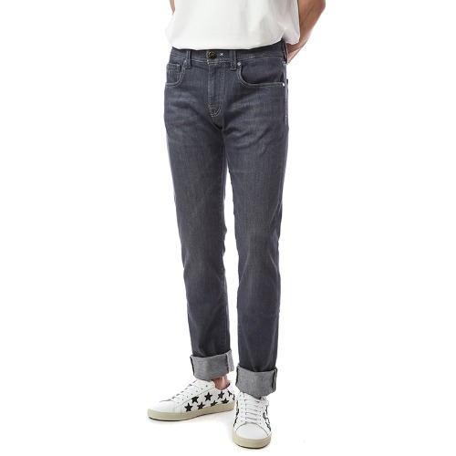 Soft Touch.Michelangelo. Stretch Gray Jeans