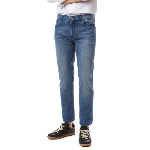 T. Medium Blue Denim Special Washed
