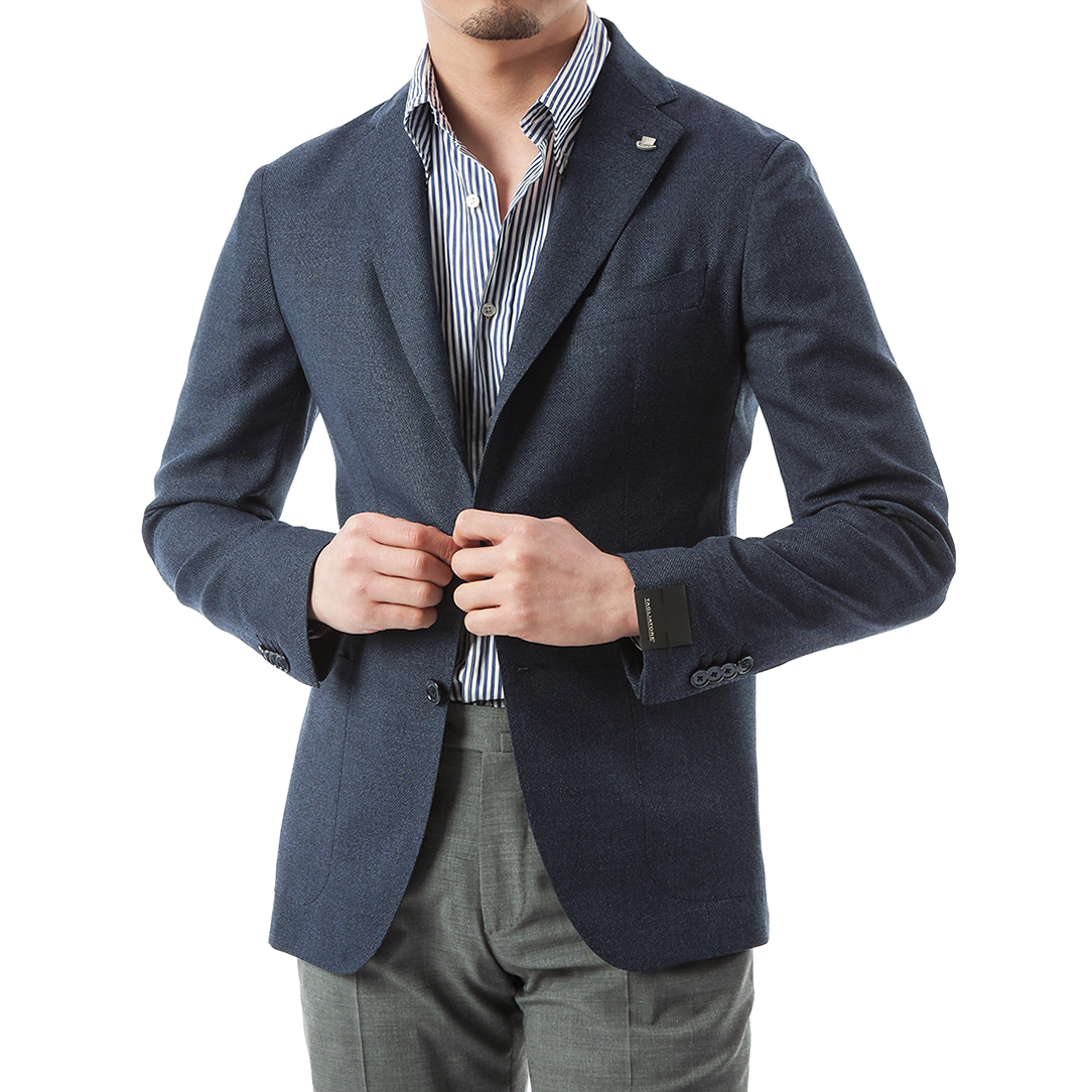 Smart twist Navy Jacket