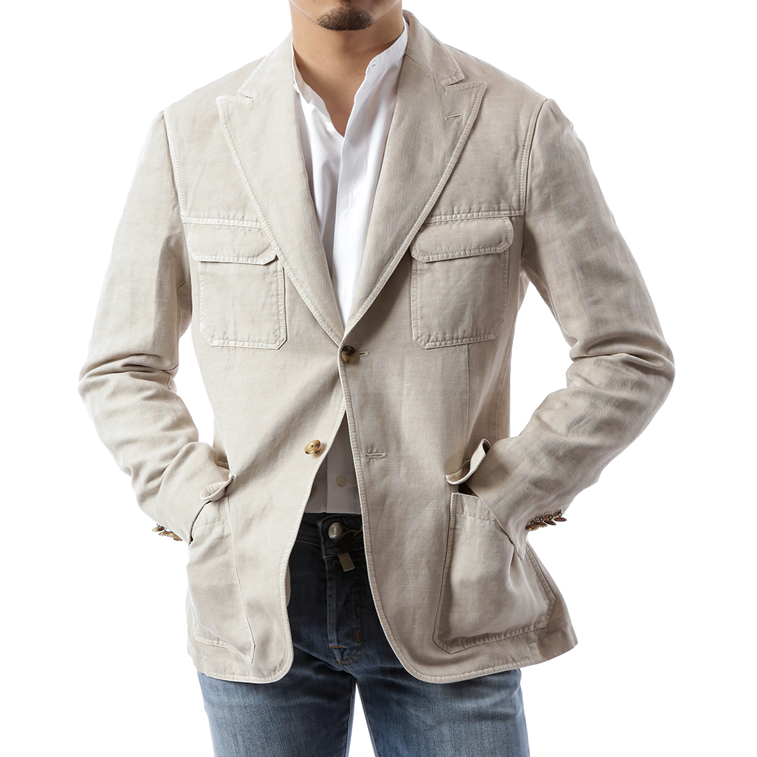 Beige Hunting Jacket