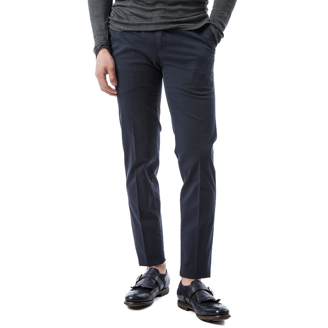 Super Slim Summer Stretch Pants (Navy)