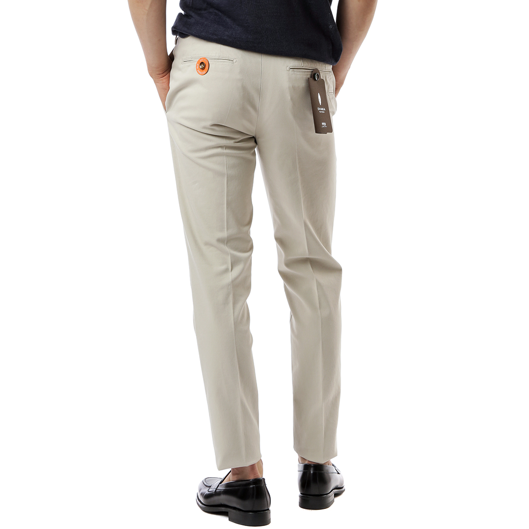 SHAKA Skinny Stretch Pants (Beige)