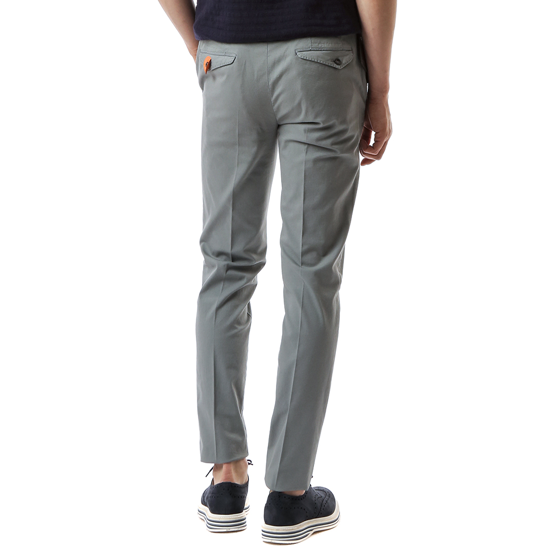 Skinny Stretch Pants (Gray)
