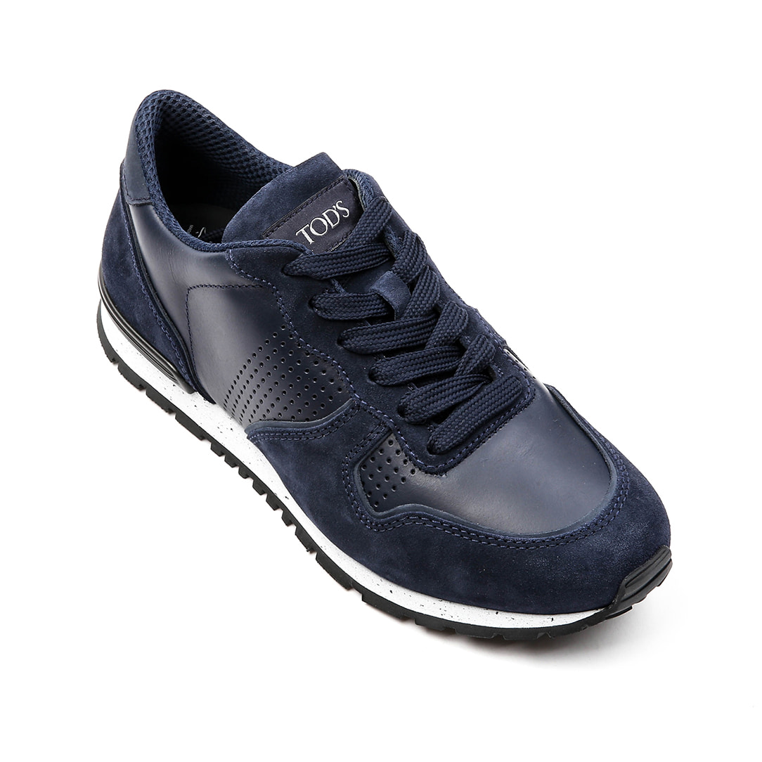 Sneakers in Suede Shoes(navy)