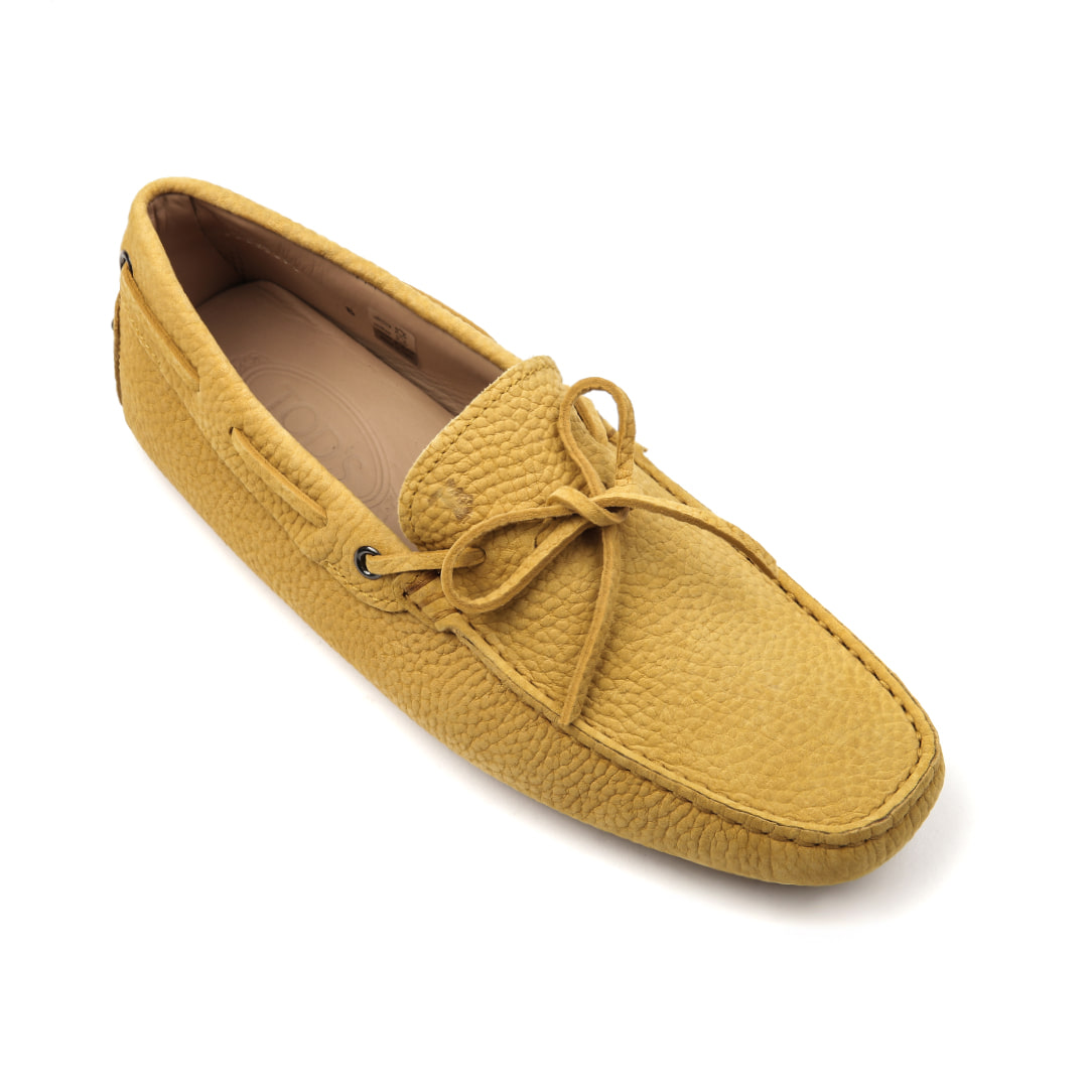 New Gommino Nubuck Driving Shoes (yellow)