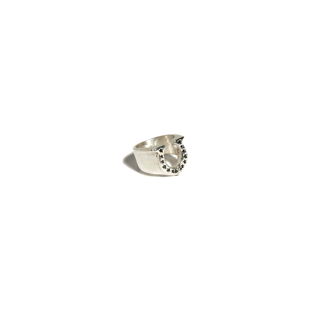 Hoof Lucky Silver Ring