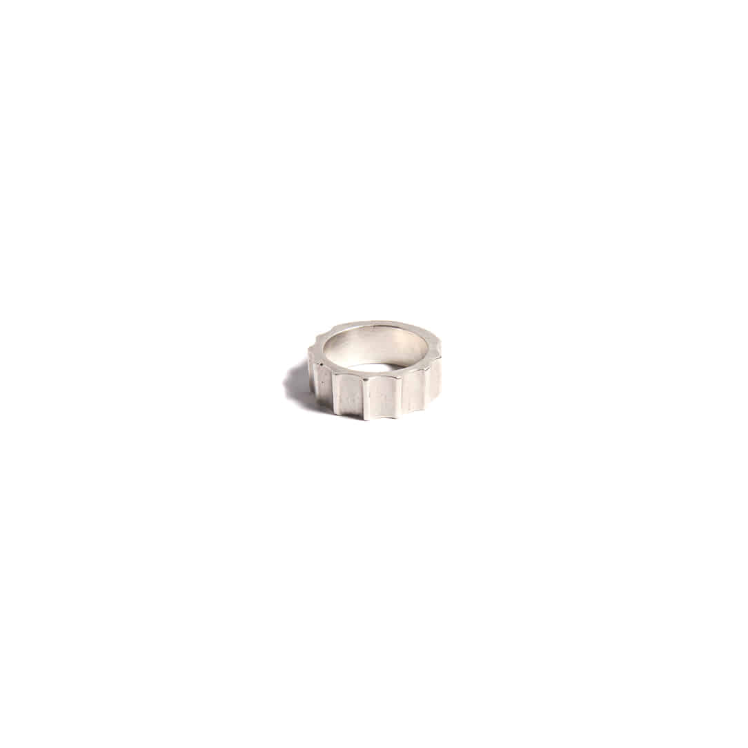 Armour Silver Ring