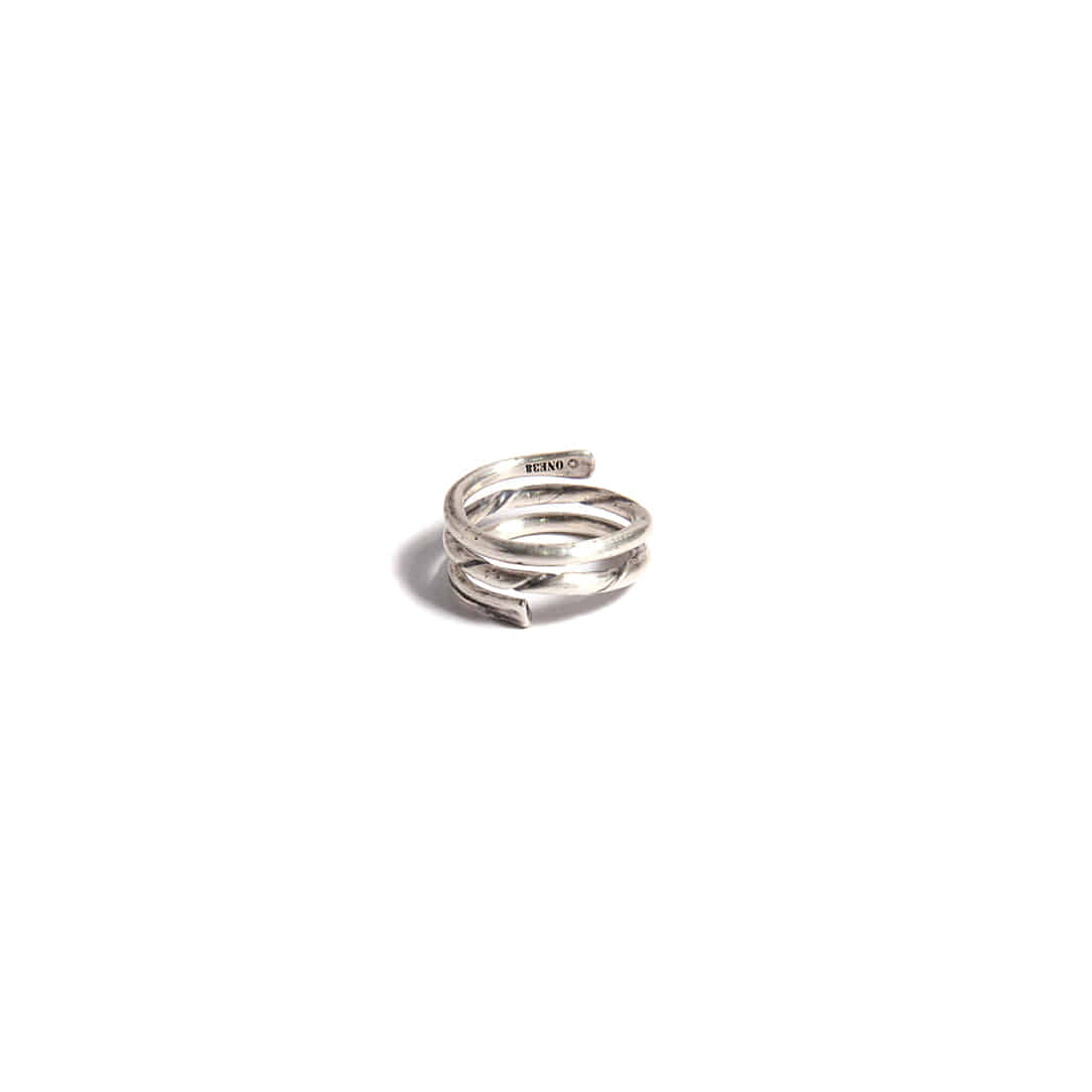 Triple Layered Silver Ring