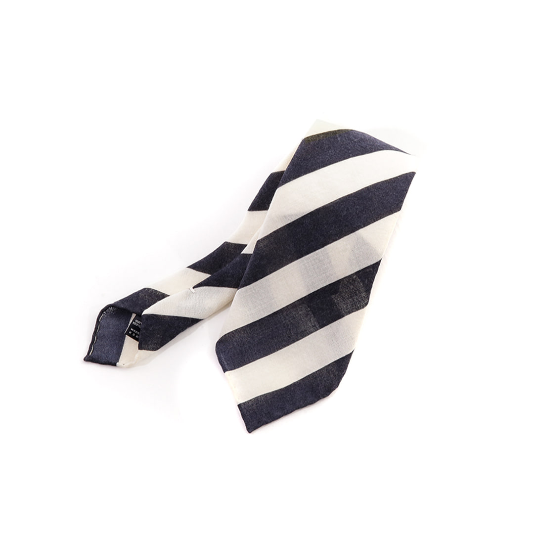 Regimental Navy Tie