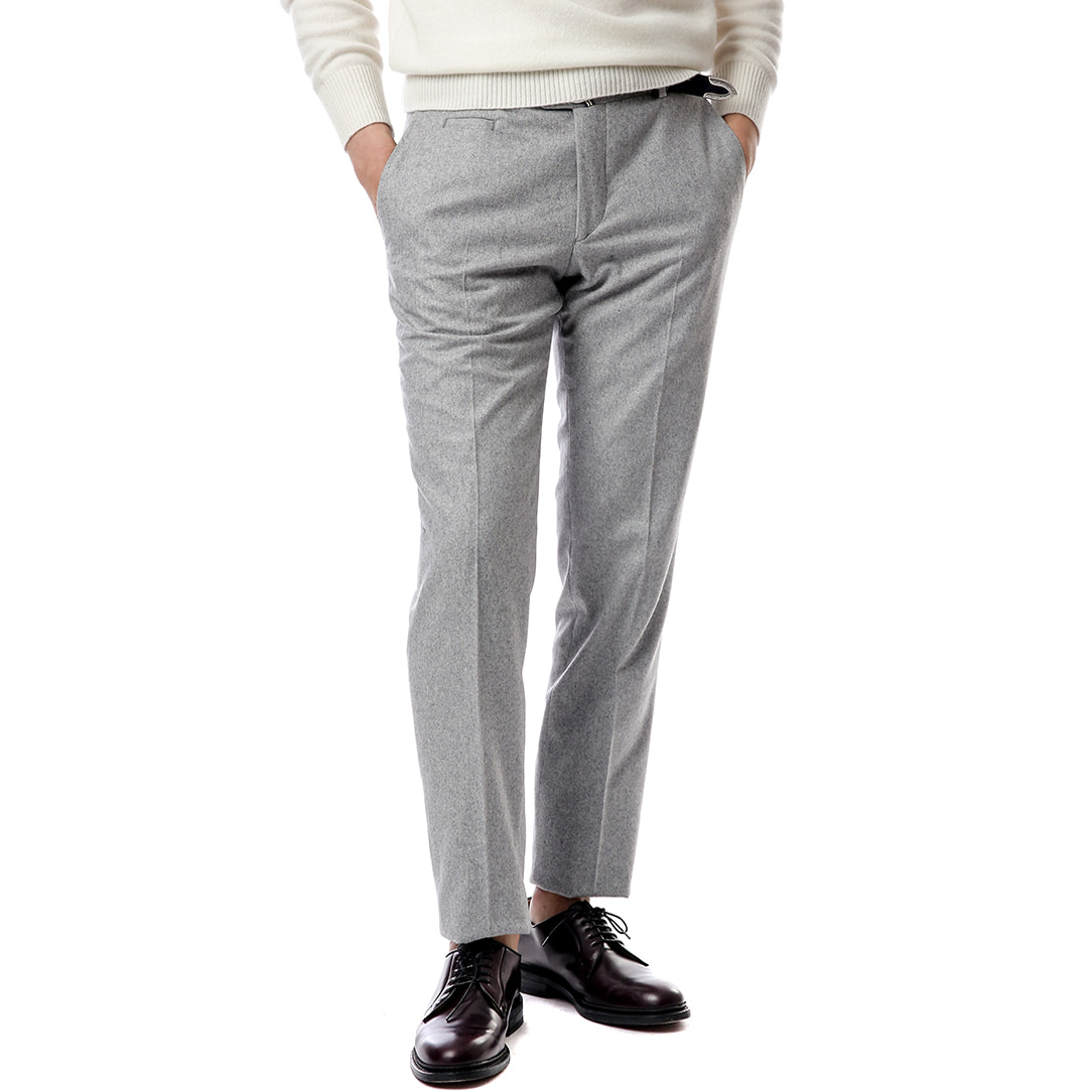 Officina Marlane Light Gray Flannel Pants