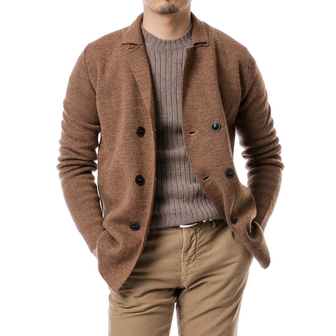 Camel Double Knit Jacket