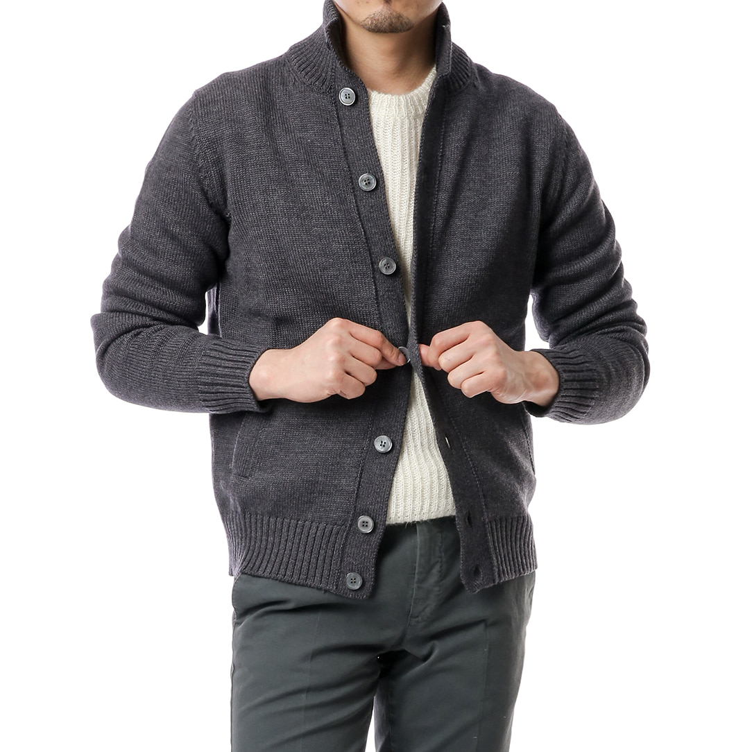 Gray A-1 Blouson Knit