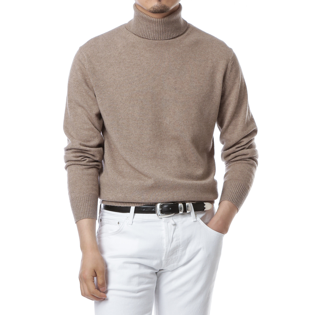 Purity Beige Turtleneck