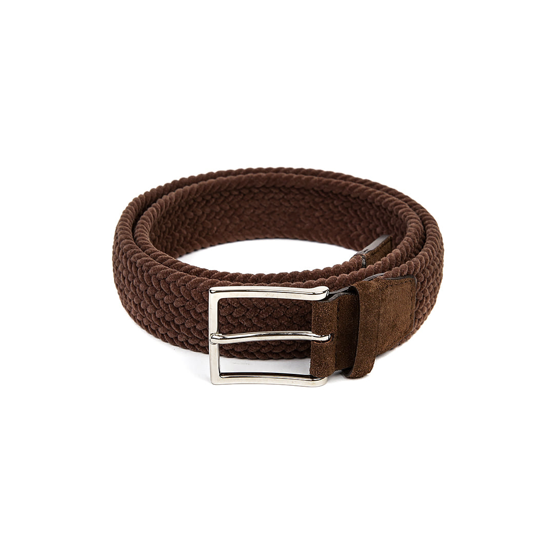 Roy Mesh Suede Brown Belt