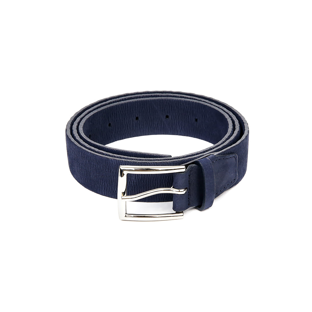 Lizard Skin Belt (Blue)