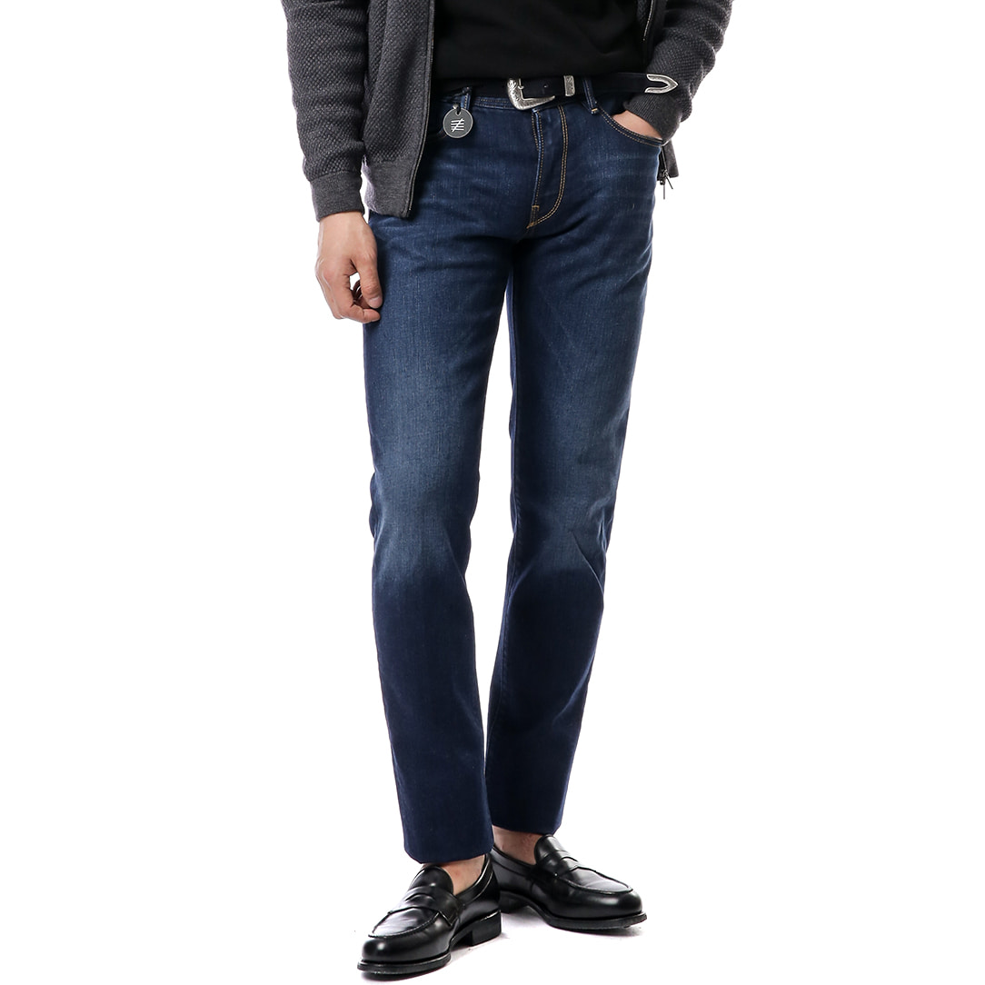 New Super Slim Denim (Dark Blue)