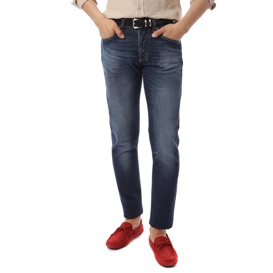 Classic 5 Pocket Core Denim (Vintage Blue)