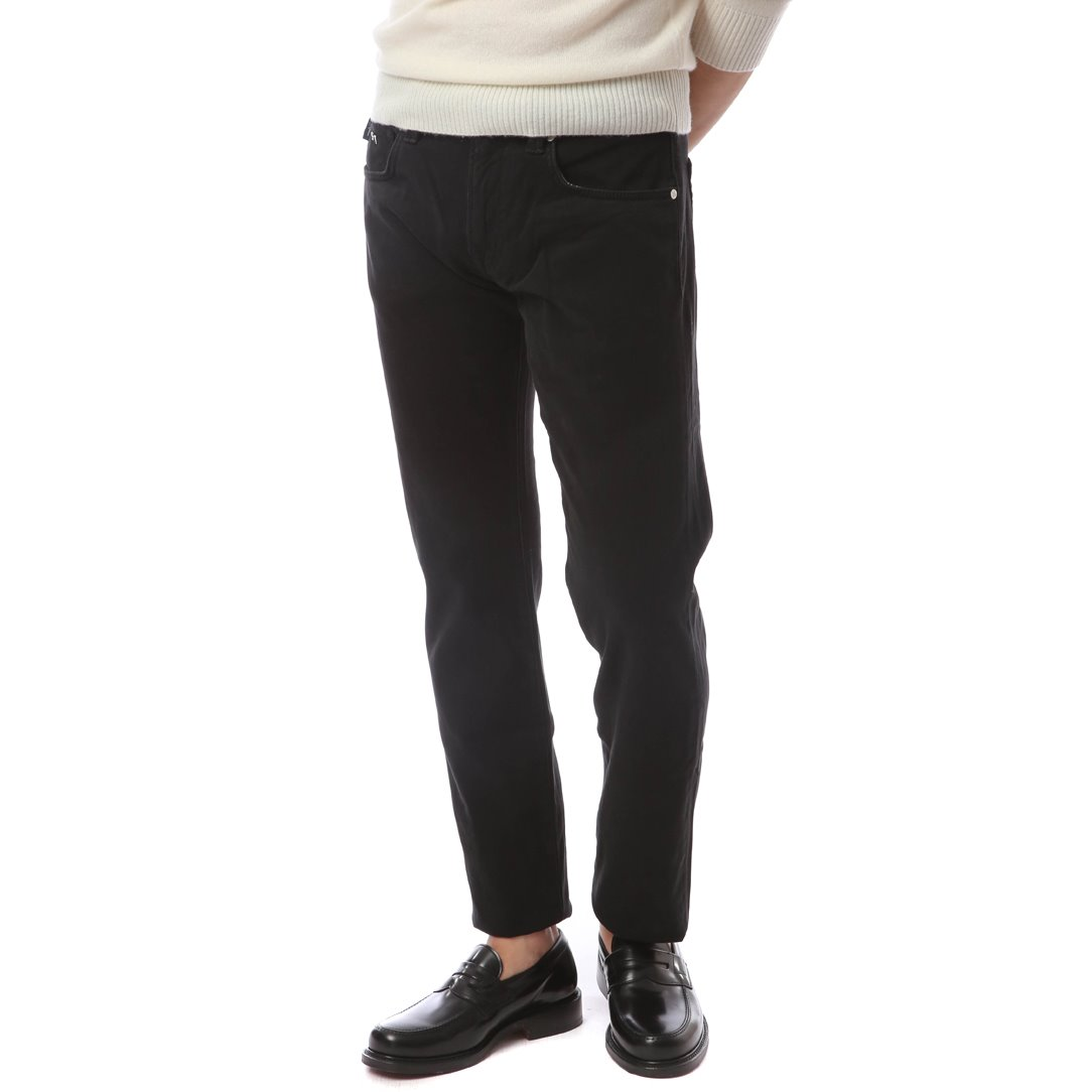 NOS. F/W  Michelangelo Color Pants (Black)