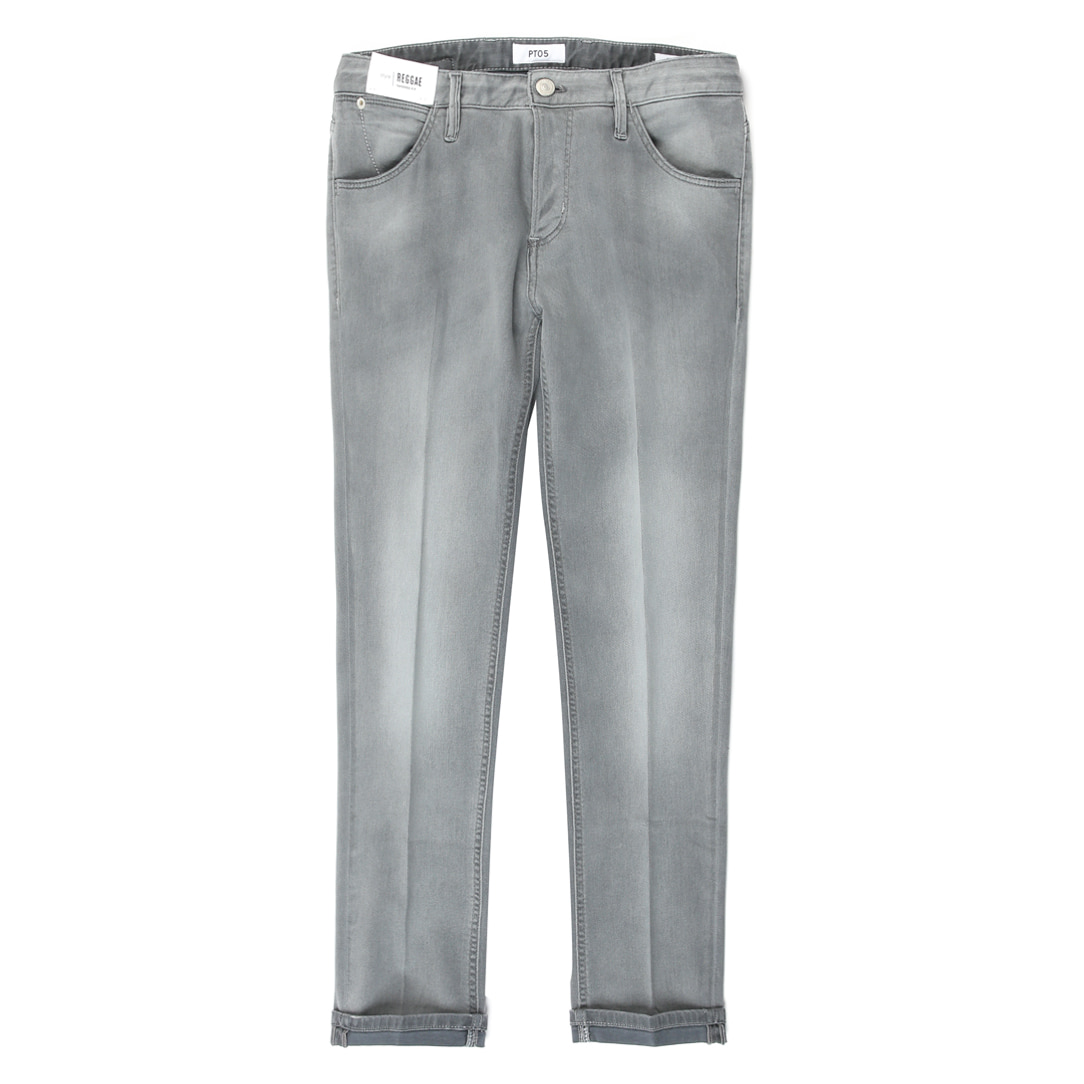Reggae Tapered Fit Denim (Vintage Grey)