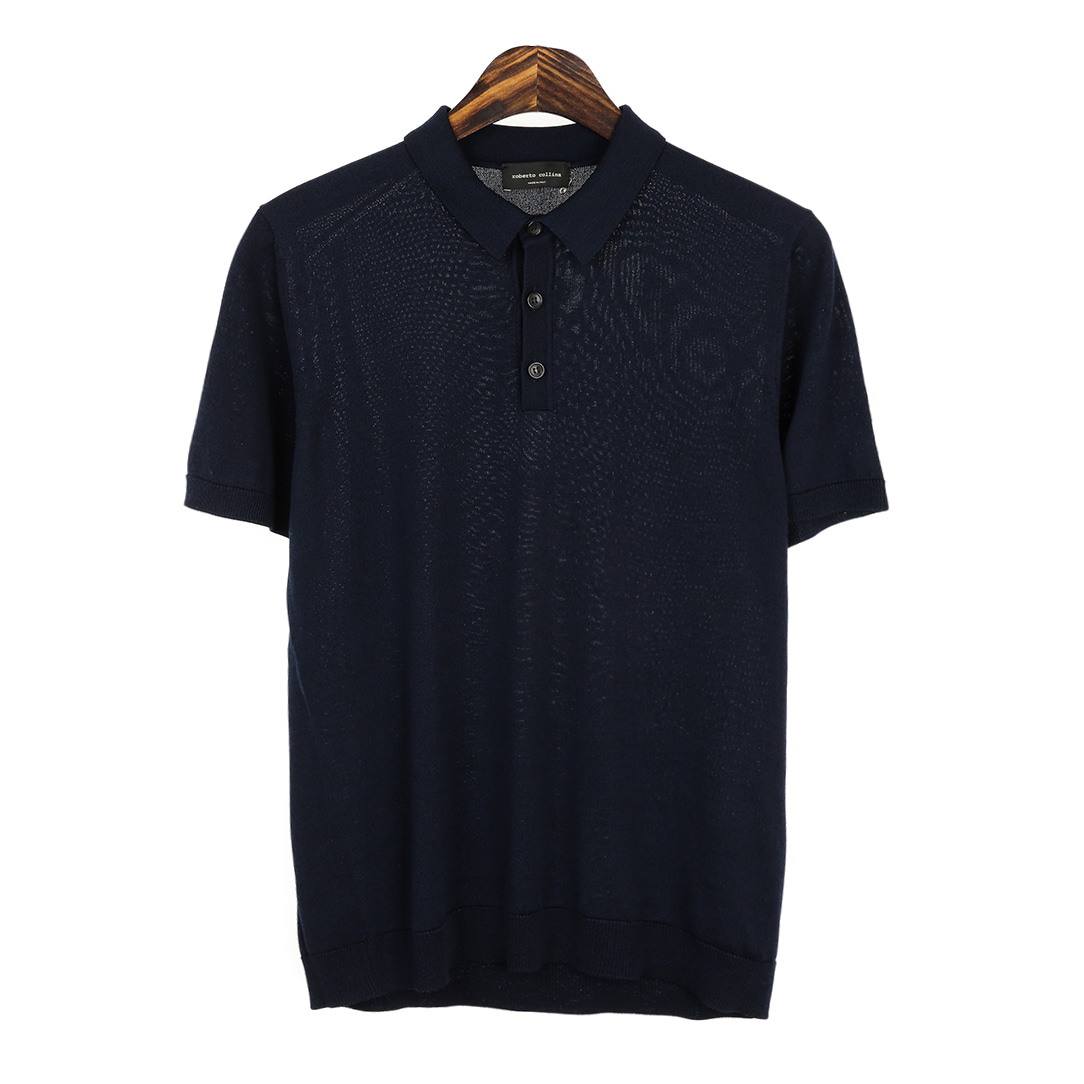 RADIANT. Navy Pique Shirts