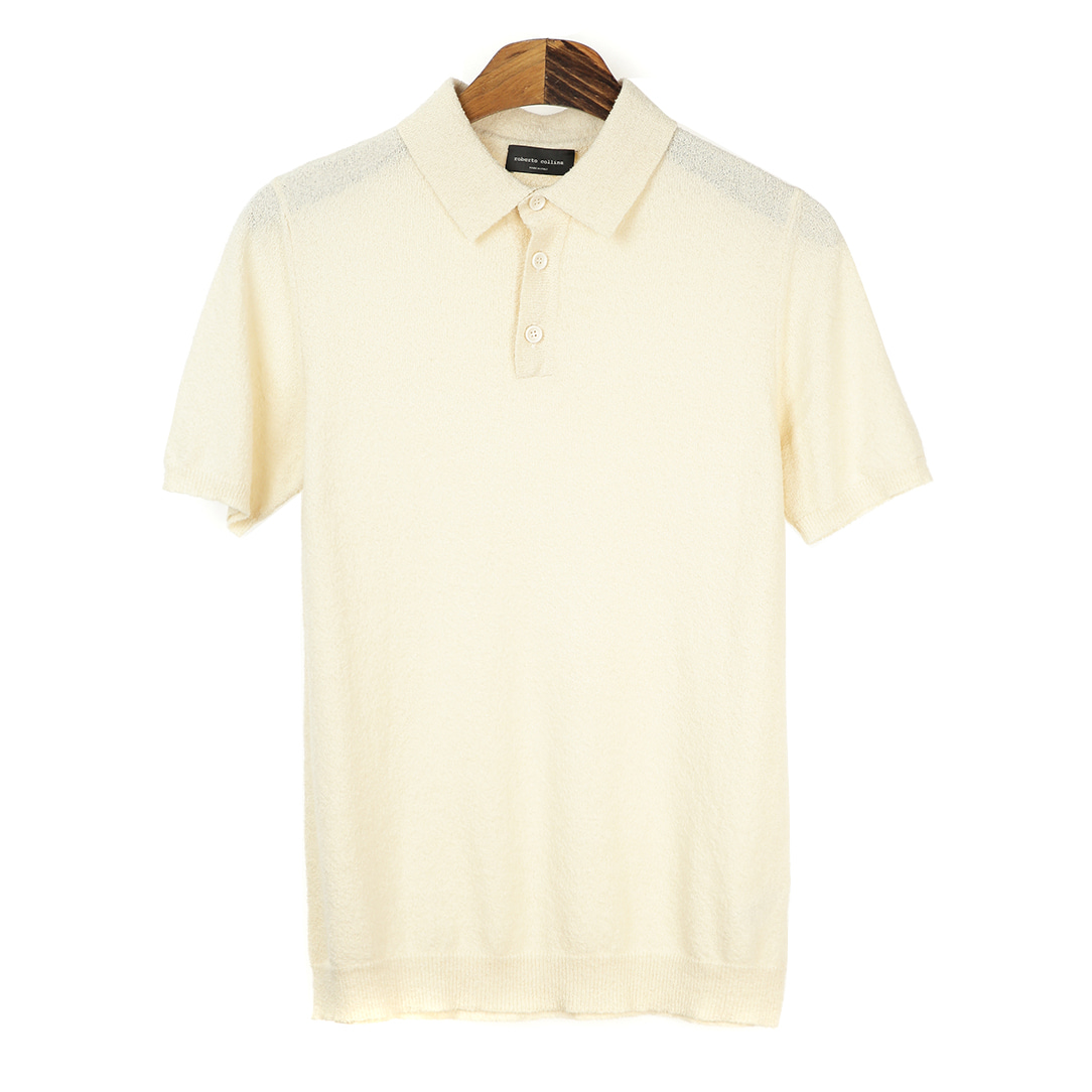 Terry Ivory Short Pique Shirts
