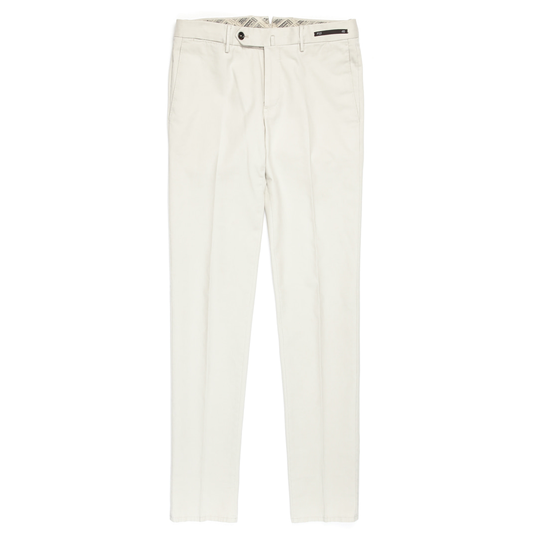 MAESTRO. Super Slim Fit Chino Pants (Ivory)