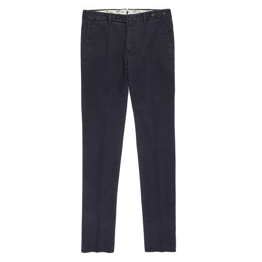 MAESTRO. Super Slim Fit Chino Pants (Navy)