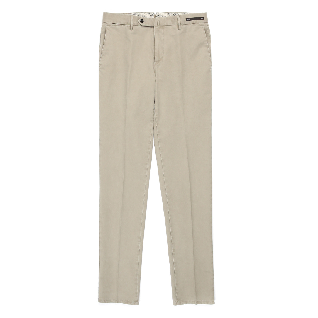 MAESTRO. Slim Fit  Chino Pants (Beige)