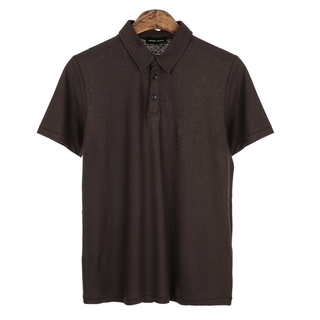 Standard Short Pique Shirts(Brown)