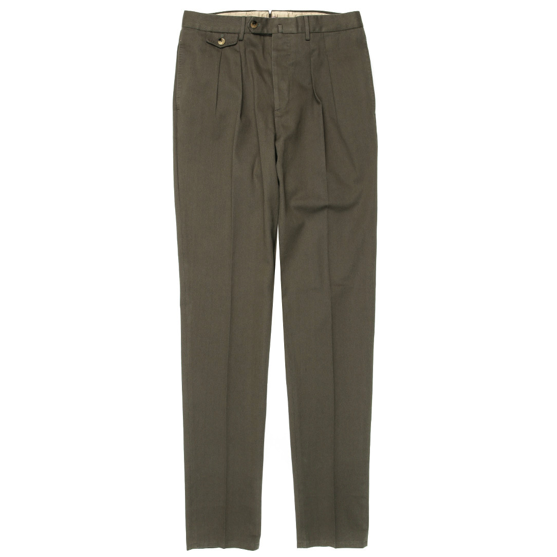 Carrot Fit. The Draper Pants(Khaki)