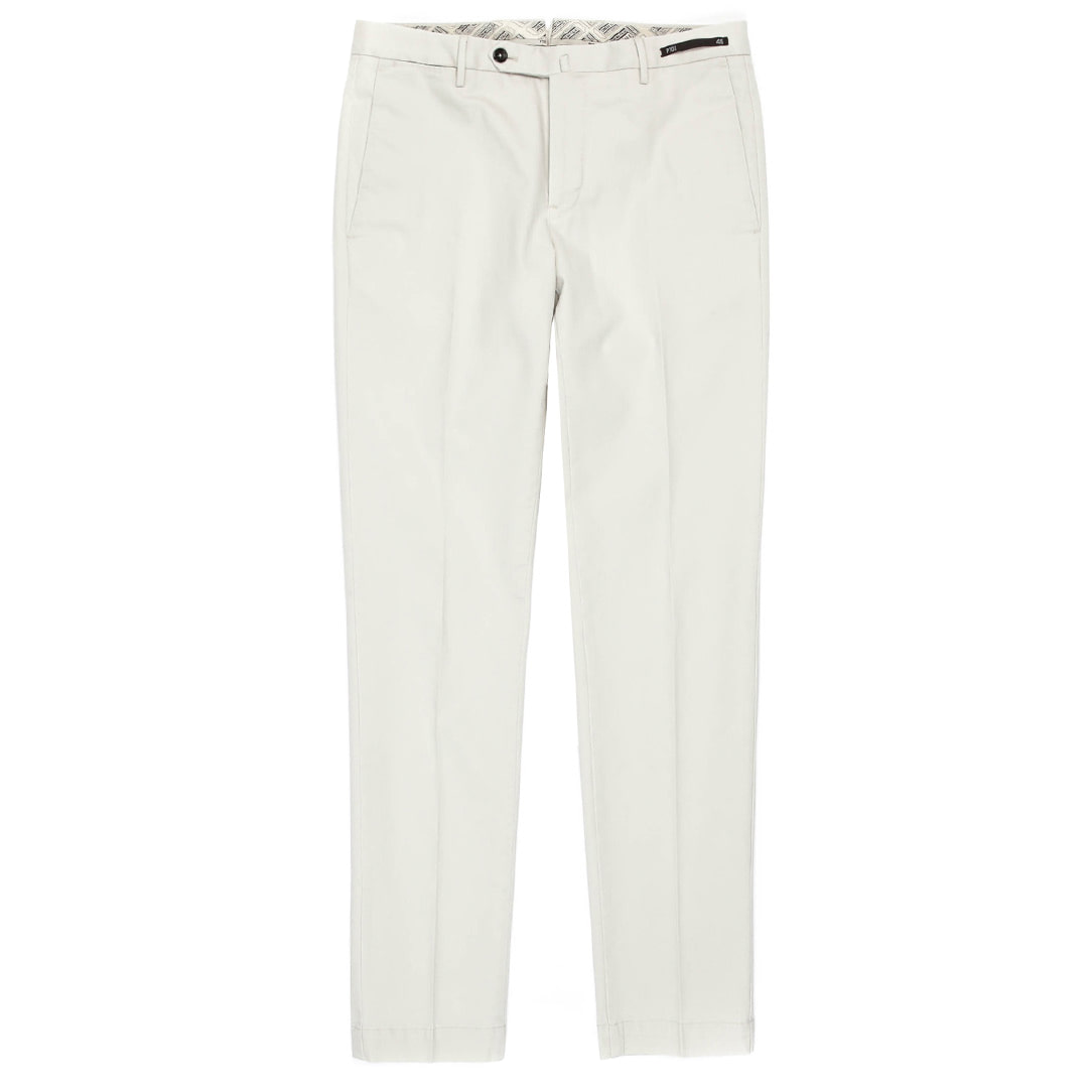 MAESTRO.Cinema. Skinny Fit Stratch Pants (Ivory)