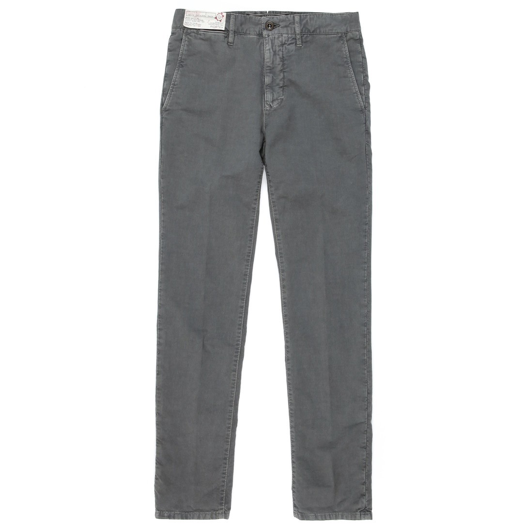 Pattern36 .Slim Fit Slacks Cotton Pants (Grey)