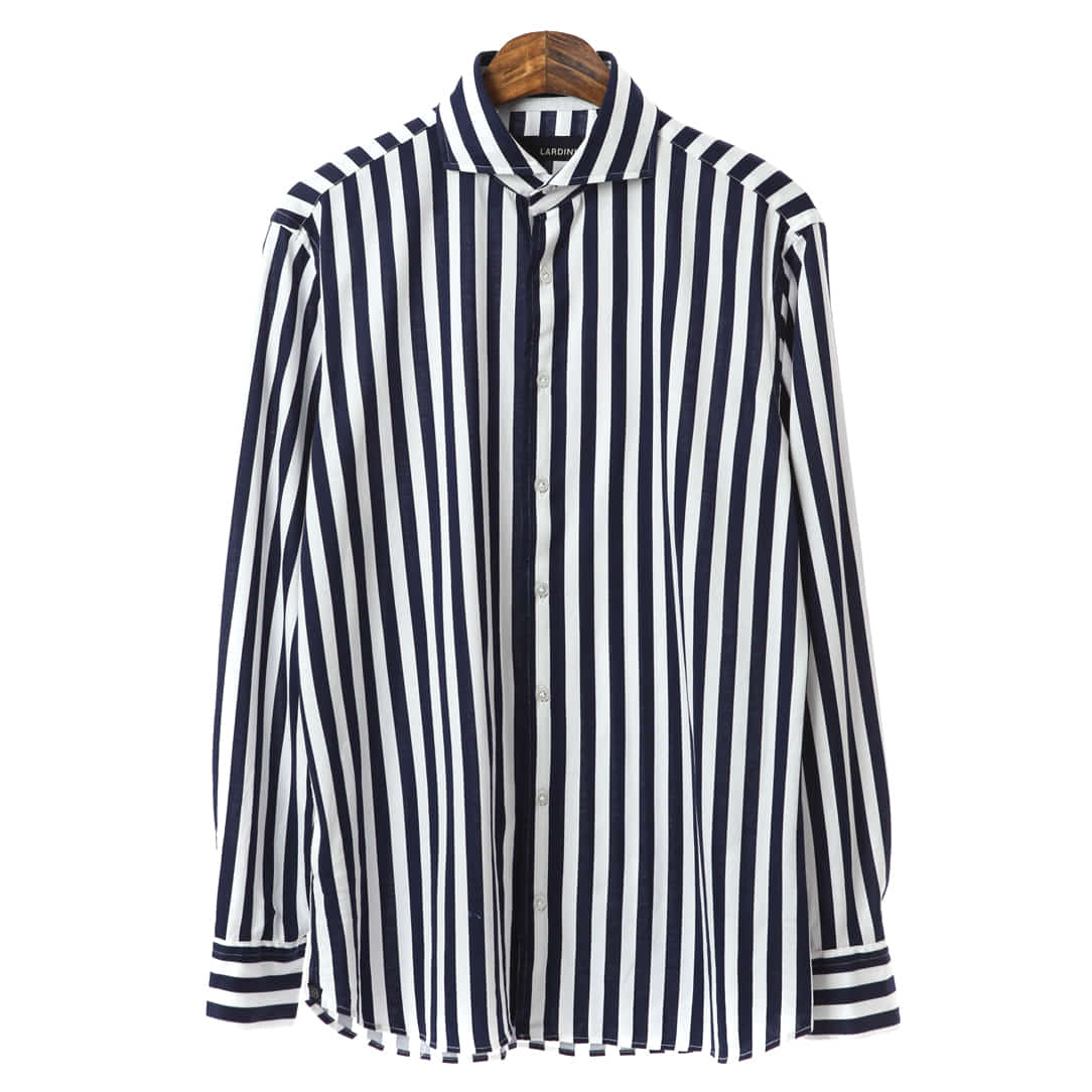 Flexible Cotton Stripe Shirts
