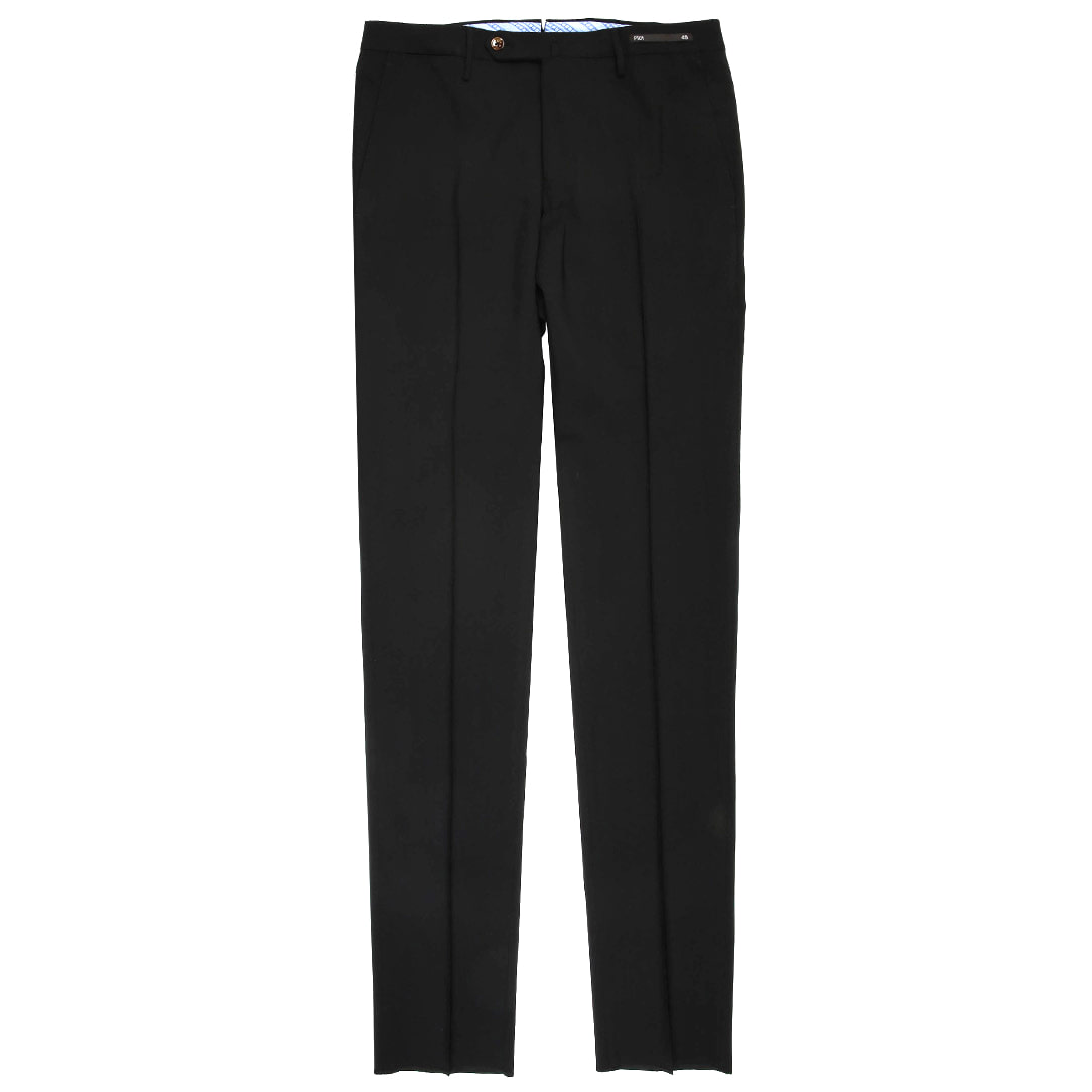SuperSlim Fit. Maestro Wool Slacks Pants(Black)