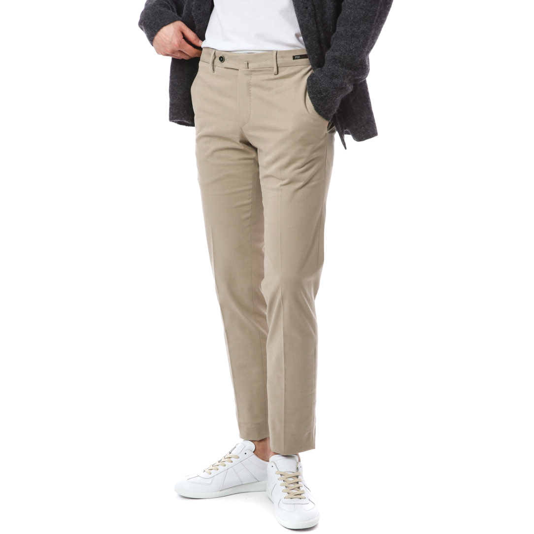 Hepcat. SuperSlim Fit. Stretch Chino Pants (Beige)