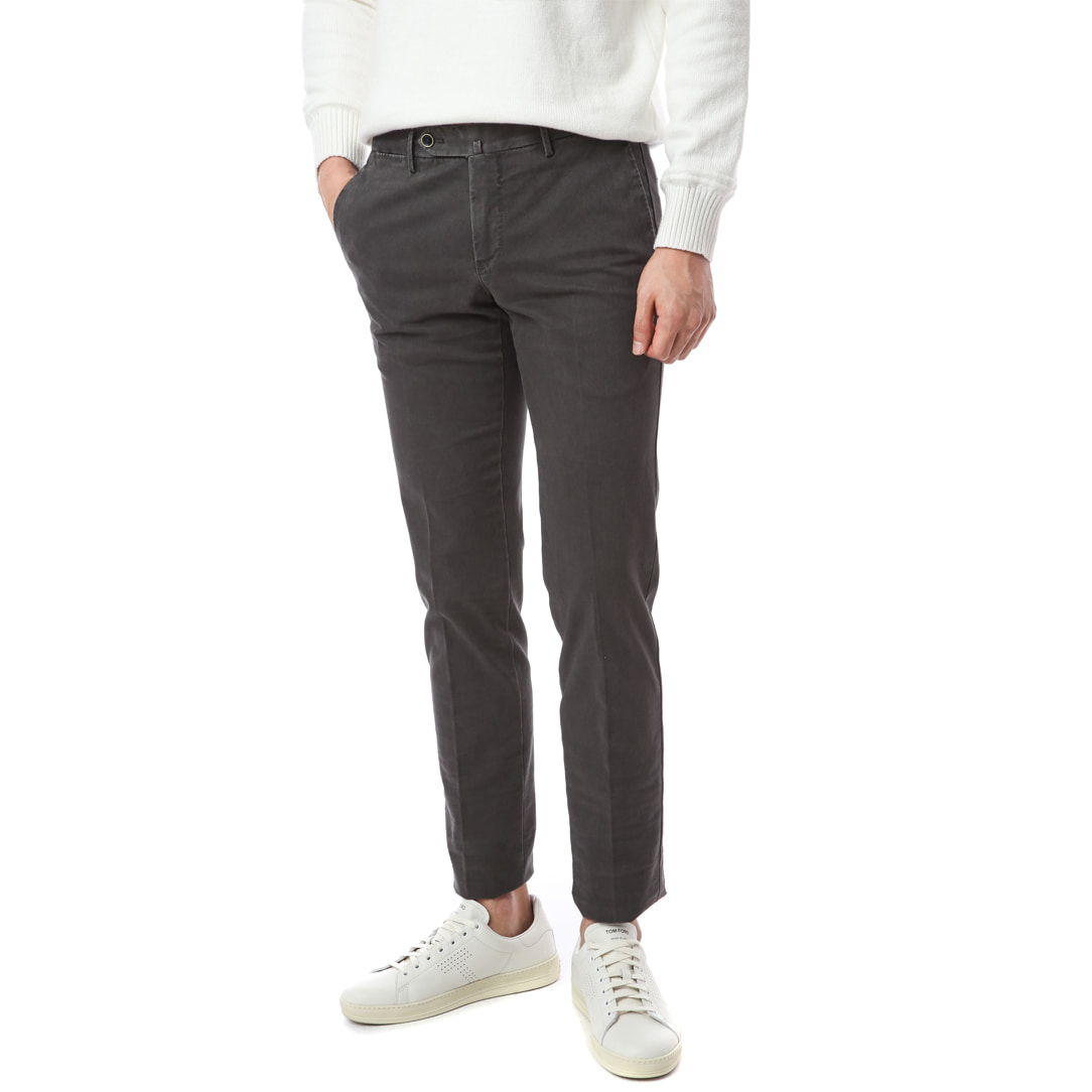 Hepcat. SuperSlim Fit. Stretch Washed Pants (Charcoal)