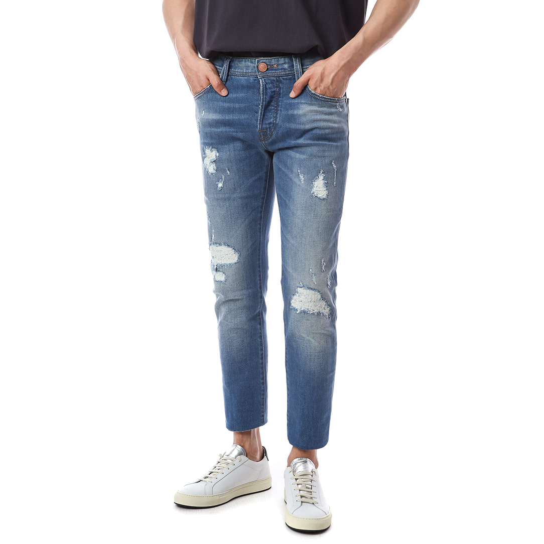 Heritage.Leonardo. Cruel Destroyed Medium Jeans